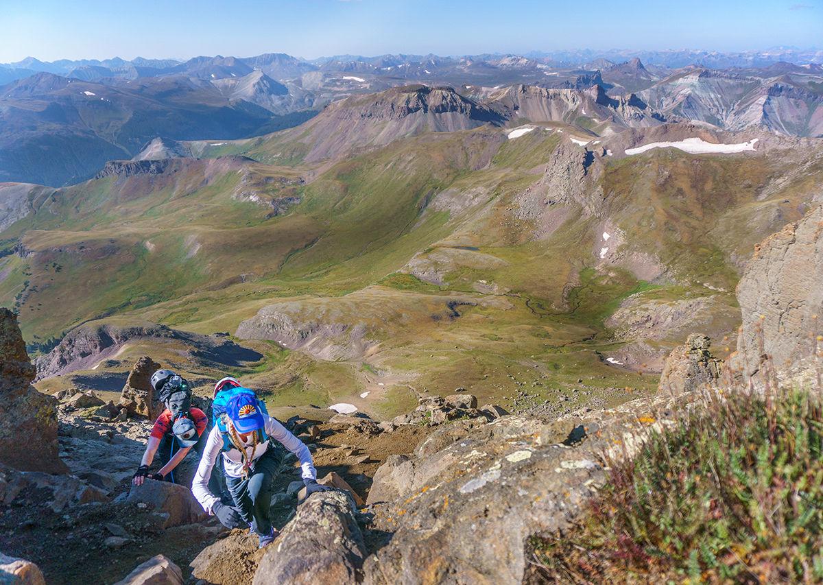 Views from the Colorado 14ers: Summiting Wetterhorn Peak