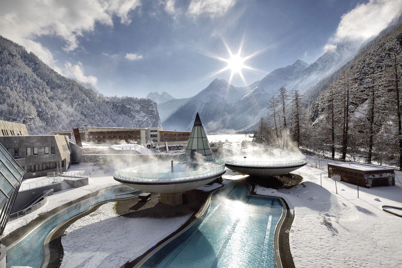 Aqua Dome Otztal Valley Austria Alps hotels