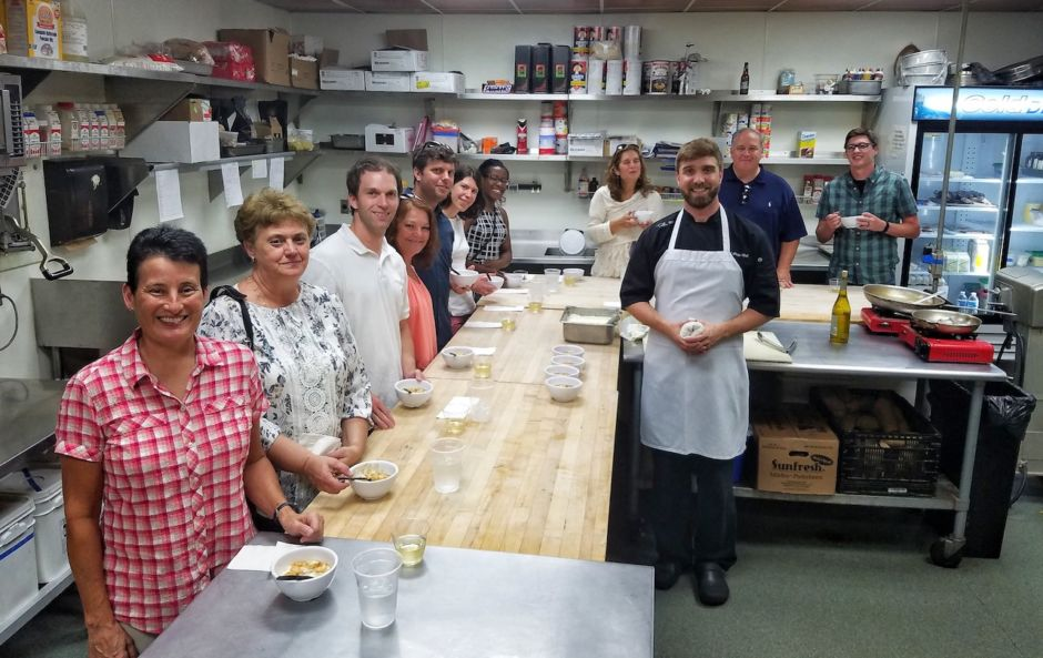 At the Chef's Table Greenville History Tours SC