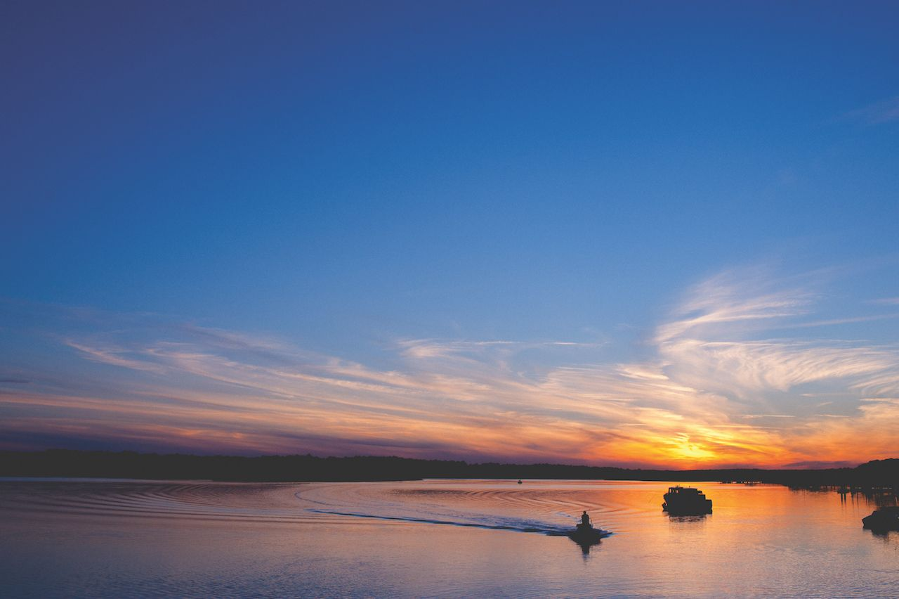 Bluffton SC sunset river
