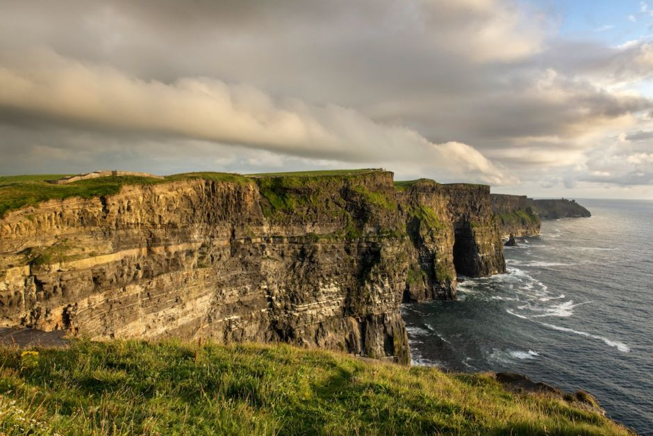 Cliffs of Moher Ireland landscape sunset