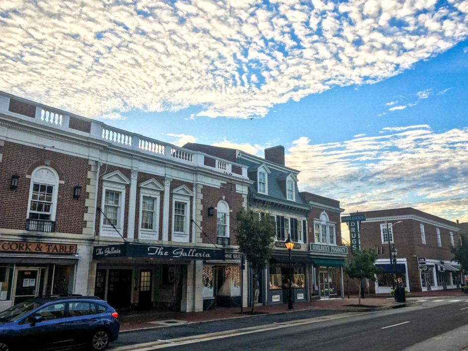 Fredericksburg old town