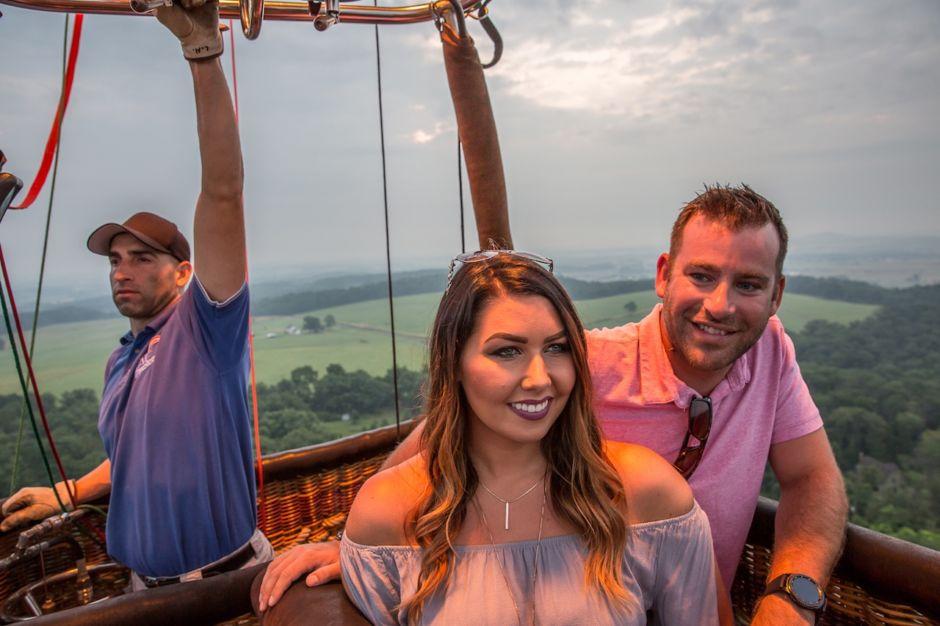 Gettysburg hot air balloon