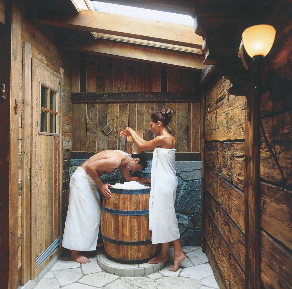 Gstaad Switzerland Ermitage Hotel Sauna