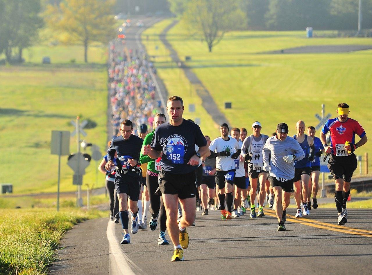 North South Marathon Gettysburg
