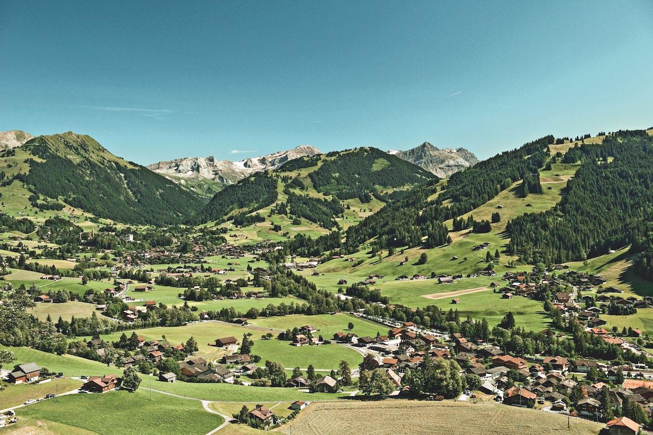 Gstaad Switzerland hiking Alps