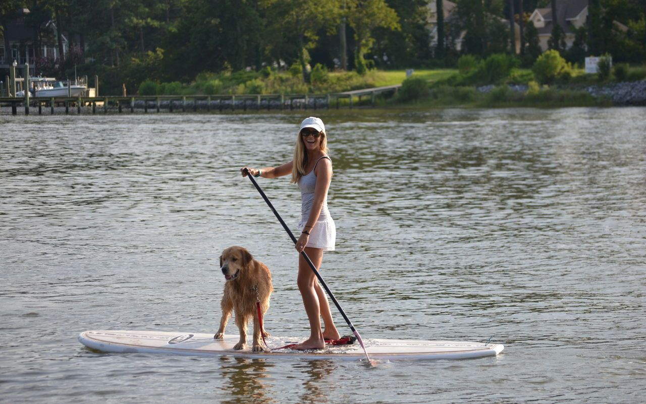 SUP Barre, on the water in Virginia Beach