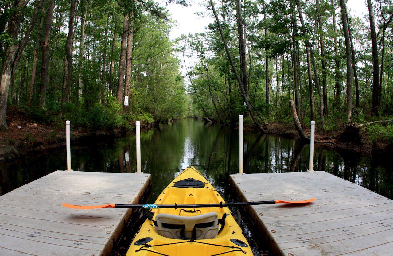 Virginia Beach Back Cay National Wildlife Refuge kayak