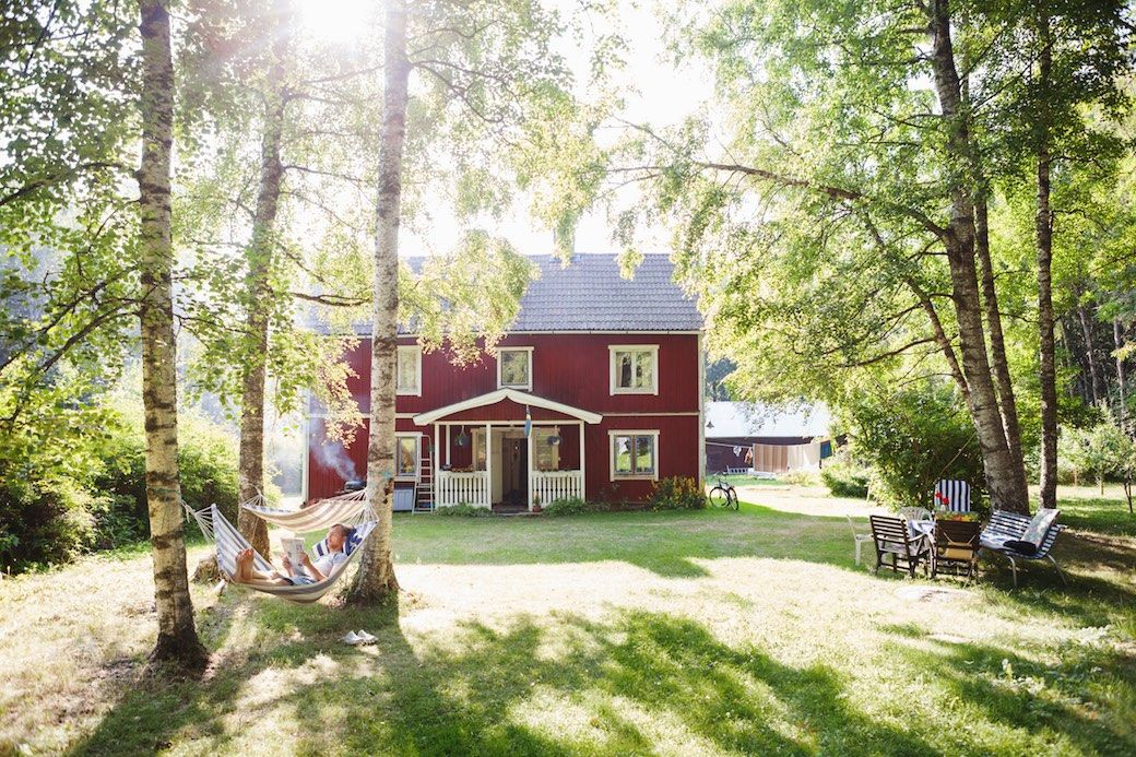 Sweden summer cabin