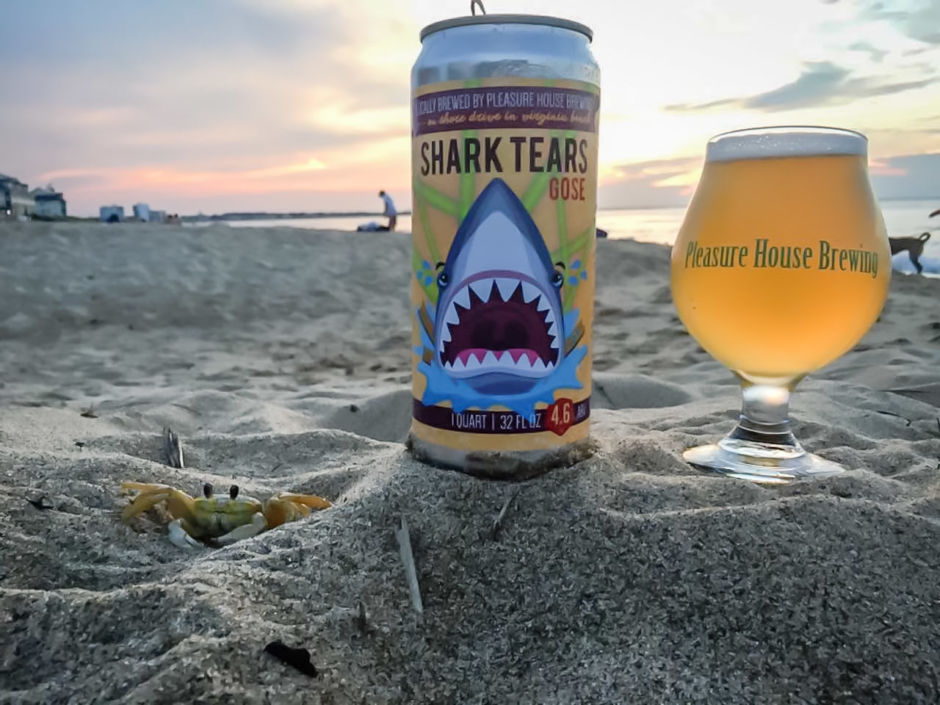 Pleasure House Brewing Virginia Beach beer