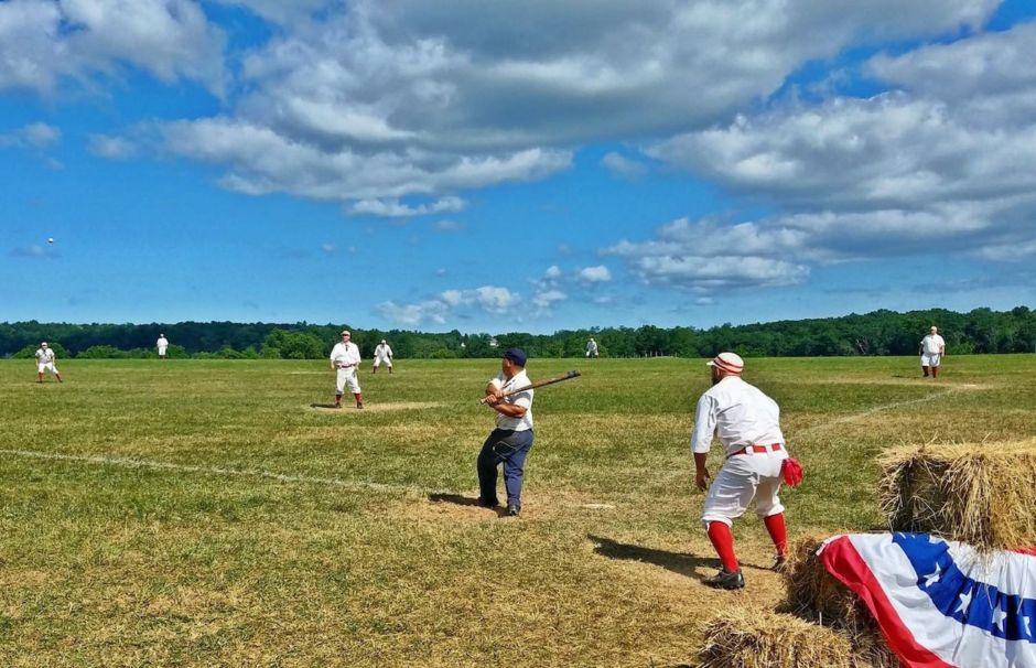 Vintage baseball festival in Gettysburg