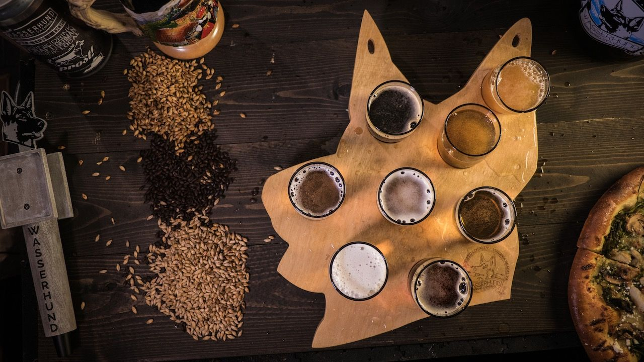 Wasserhund Brewing Virginia Beach beer