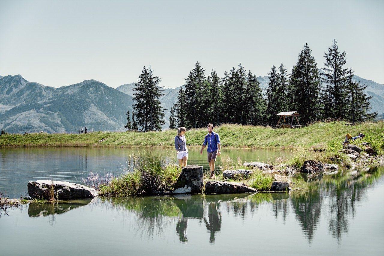 Zell am See Austria hiking Schmittnehoehe