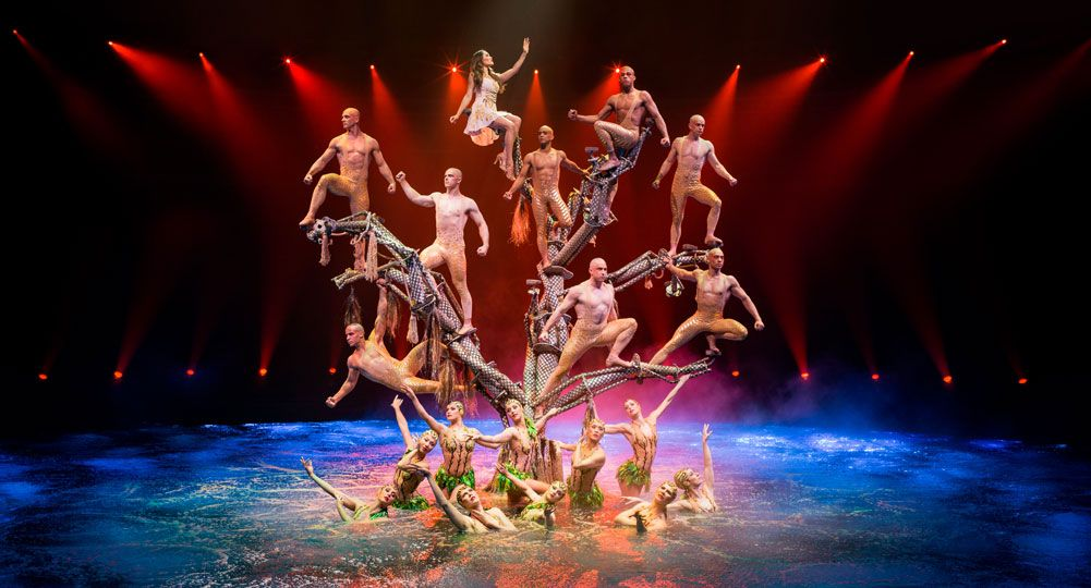 Best shows in Las Vegas Le Reve