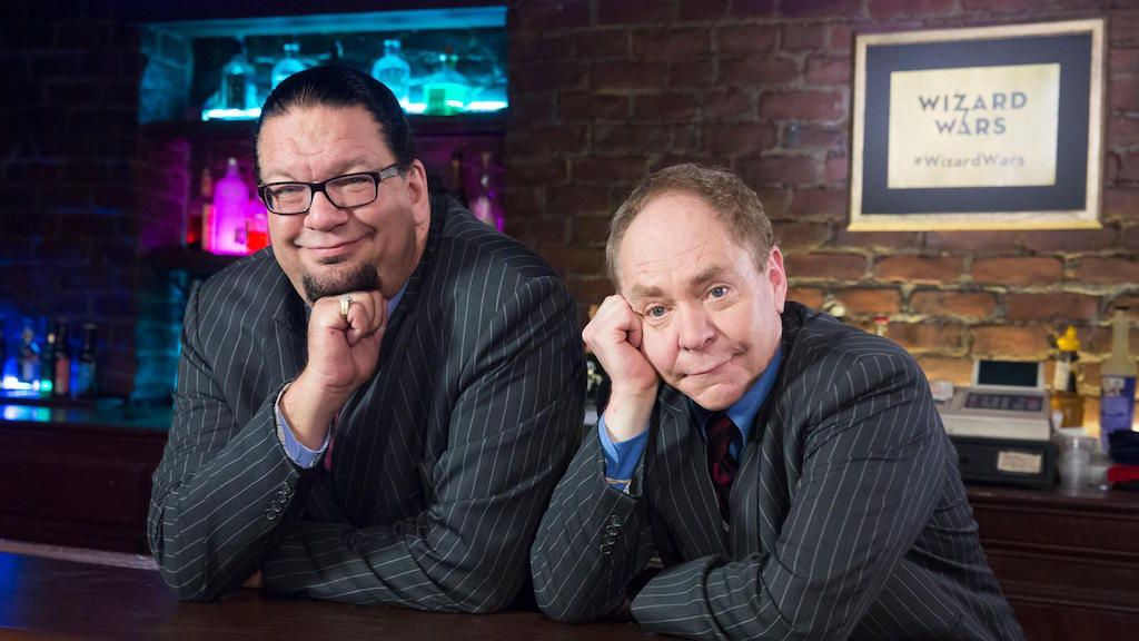 Best shows in Las Vegas Penn and Teller