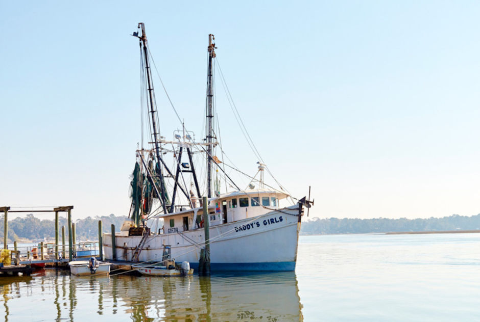 Bluffton boat marina