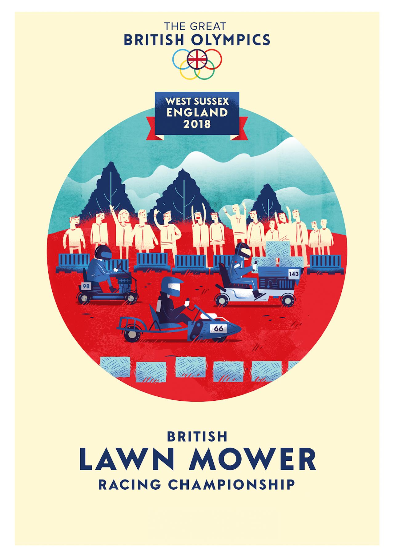 British Olympics_03 Lawn Mower