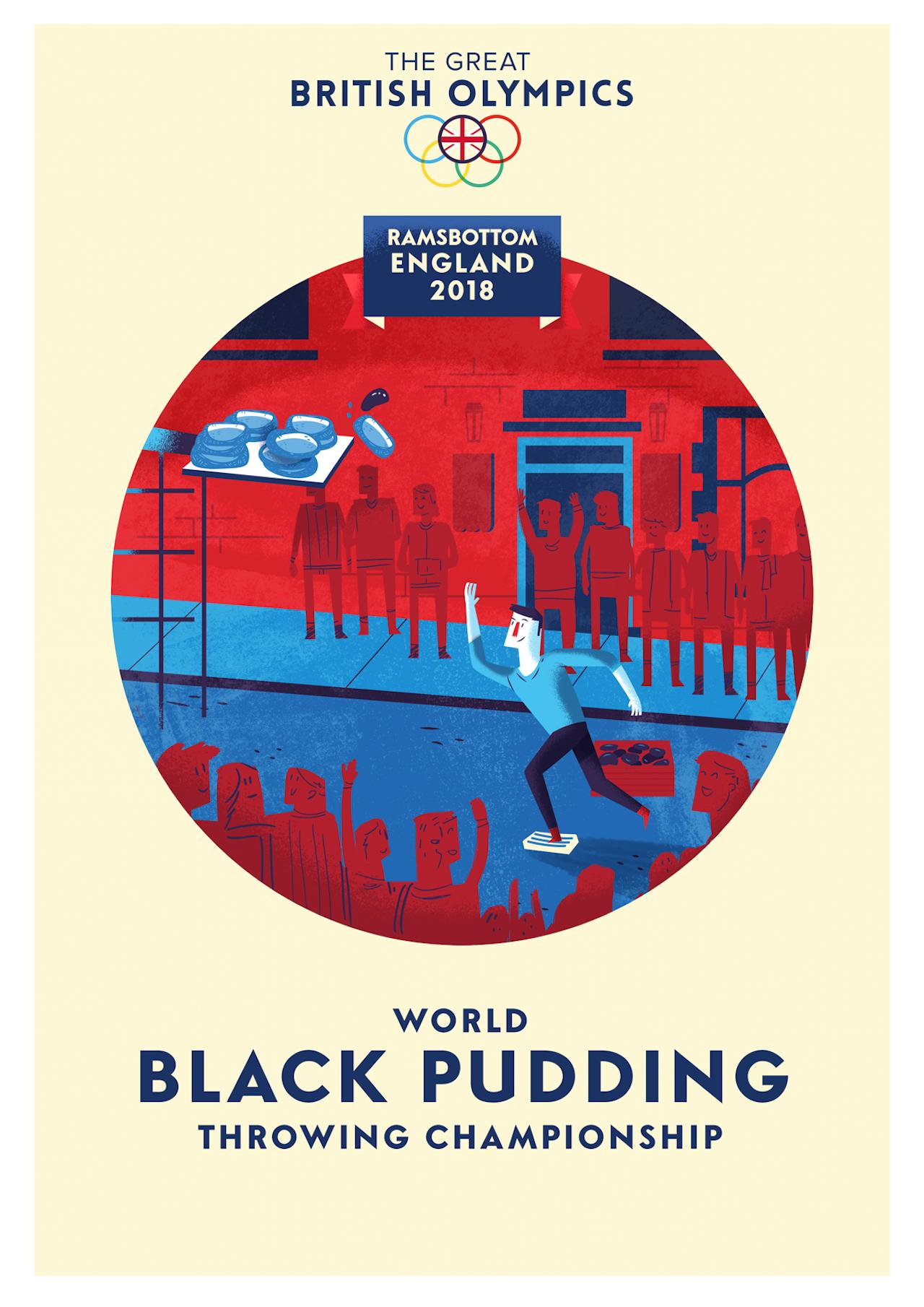 British Olympics_04 Black Pudding