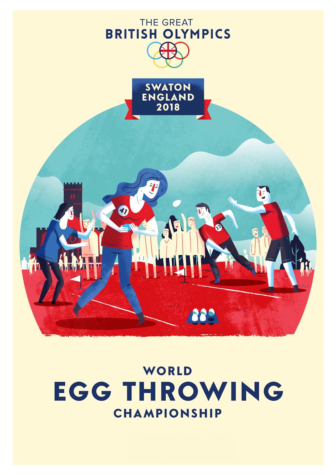 British Olympics_09 Egg Throwing