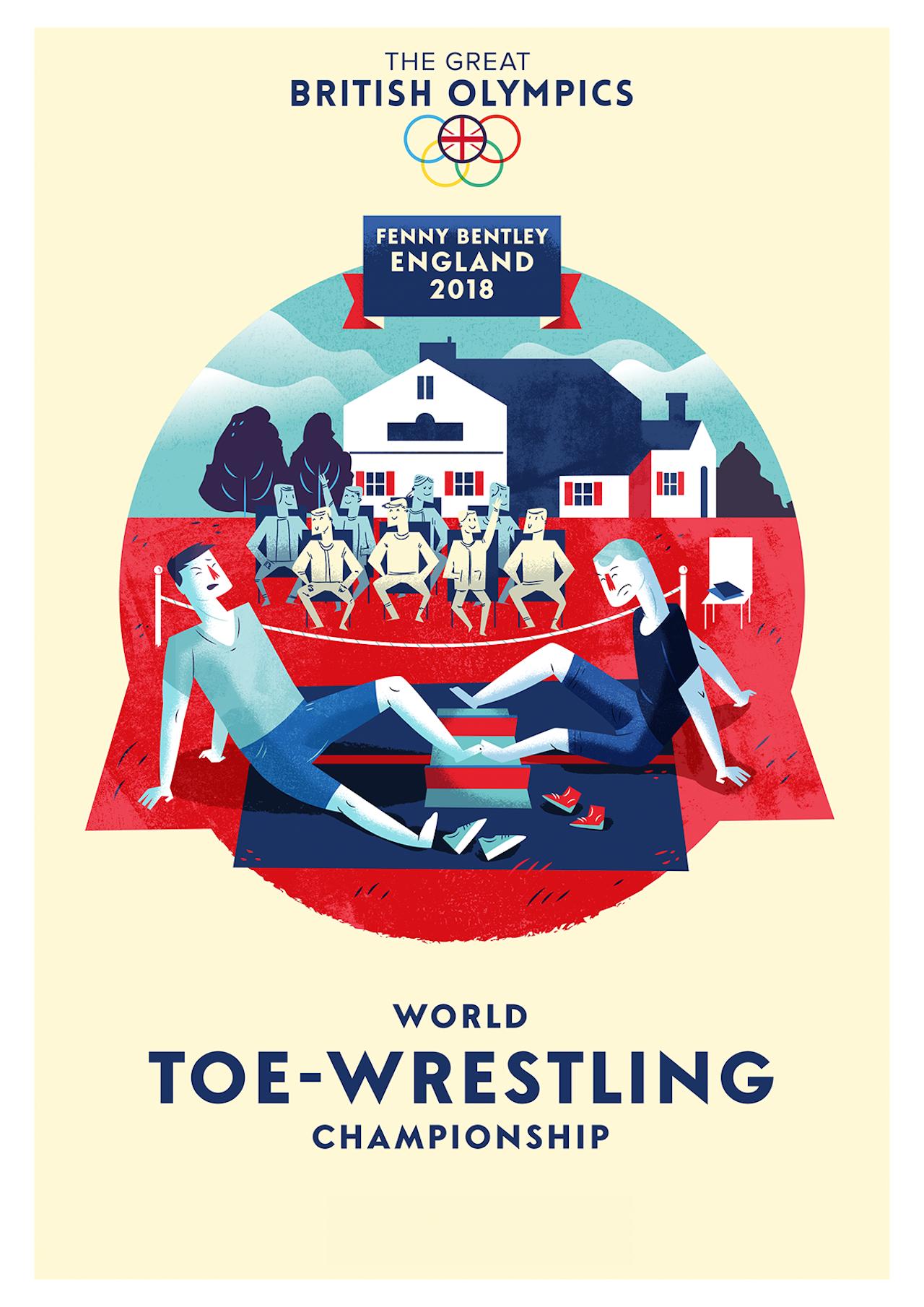 British Olympics_11 Toe Wrestling