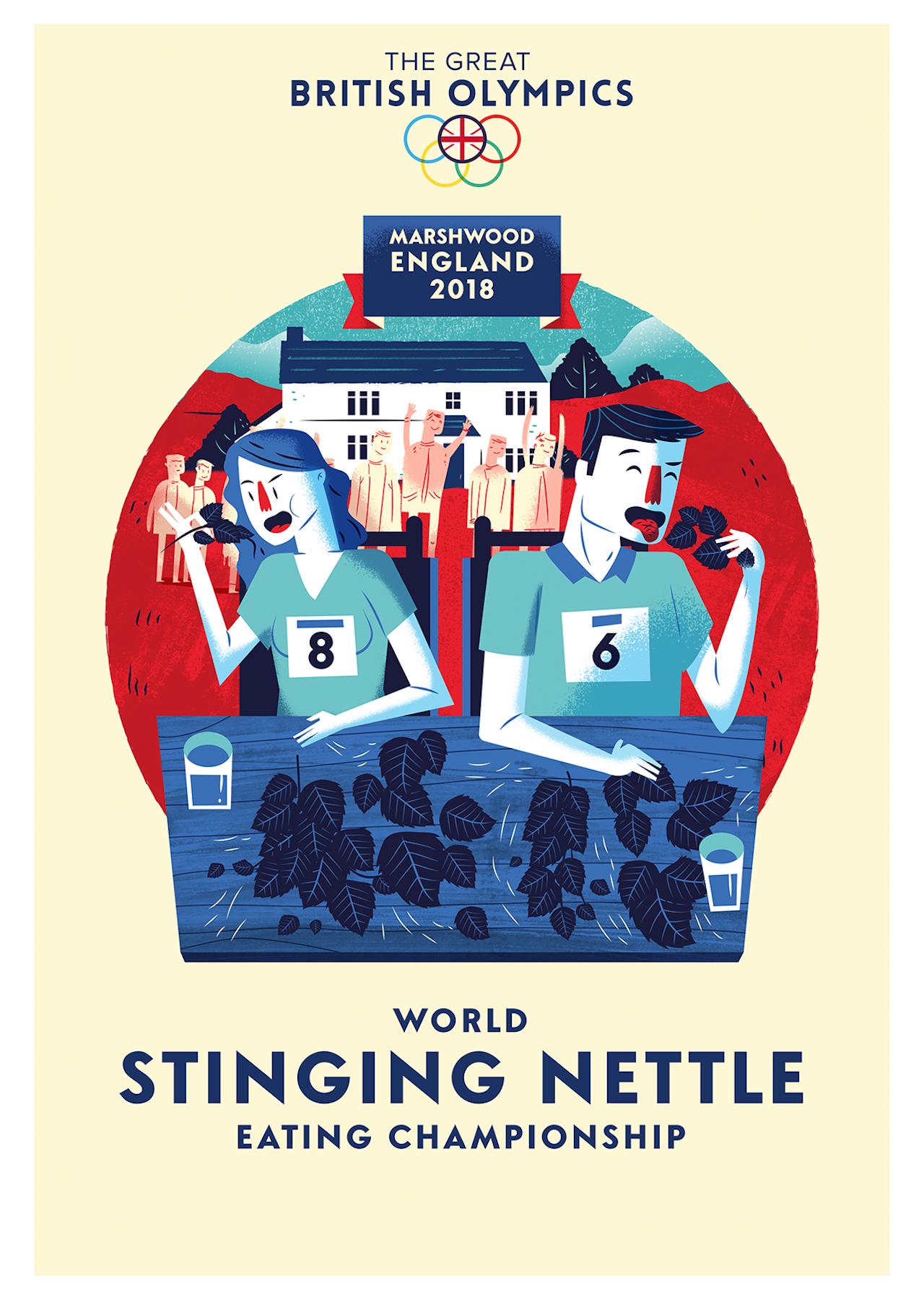 British Olympics_12 Stinging Nettle
