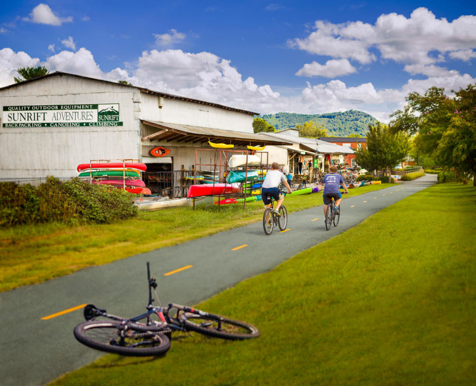 GHS Swamp Rabbit Trail by Sunrift Adventures