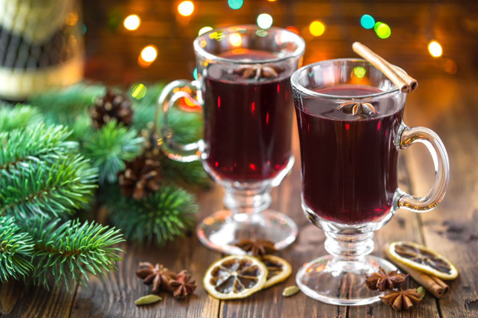 Gluhwein in Leavenworth, WA