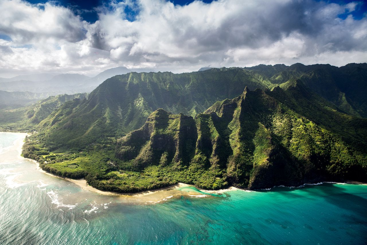 Hawaii landscape honeymoon