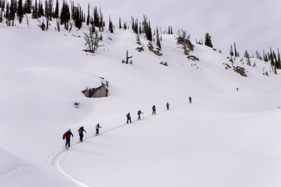Payette Powder Guides Idaho backcountry ski