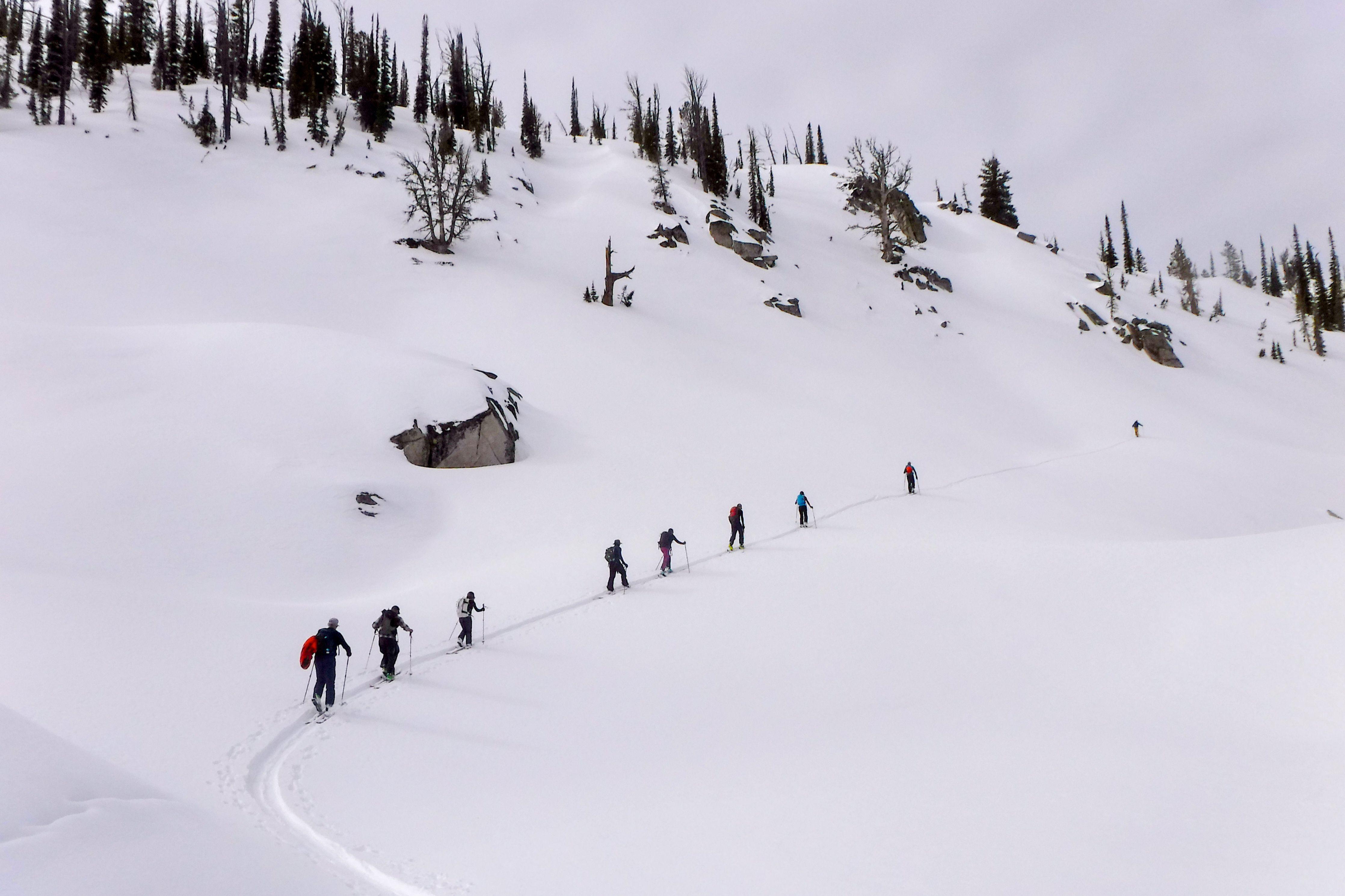 Payette Powder Guides Idaho backcountry ski