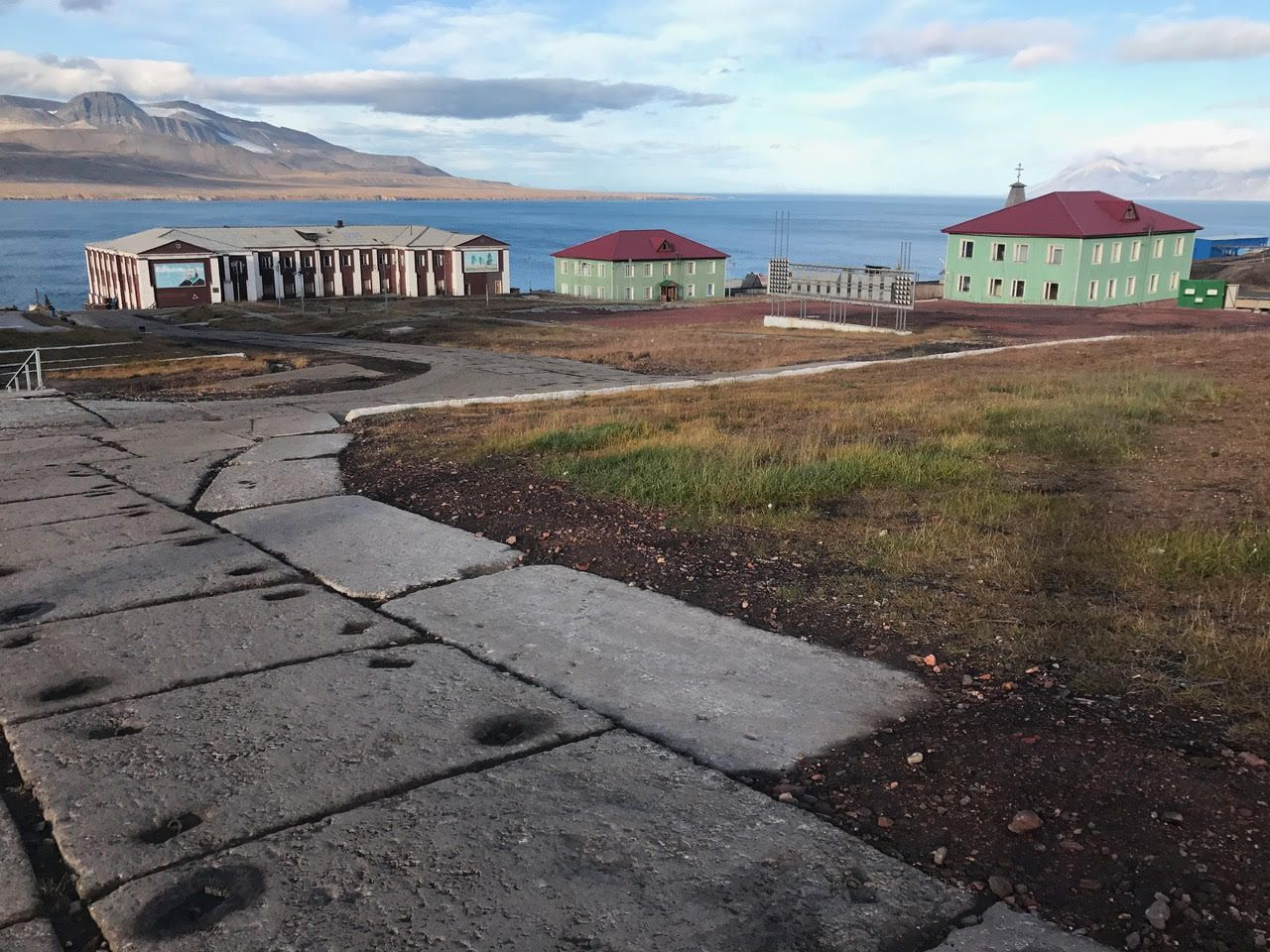 Svalbard cities