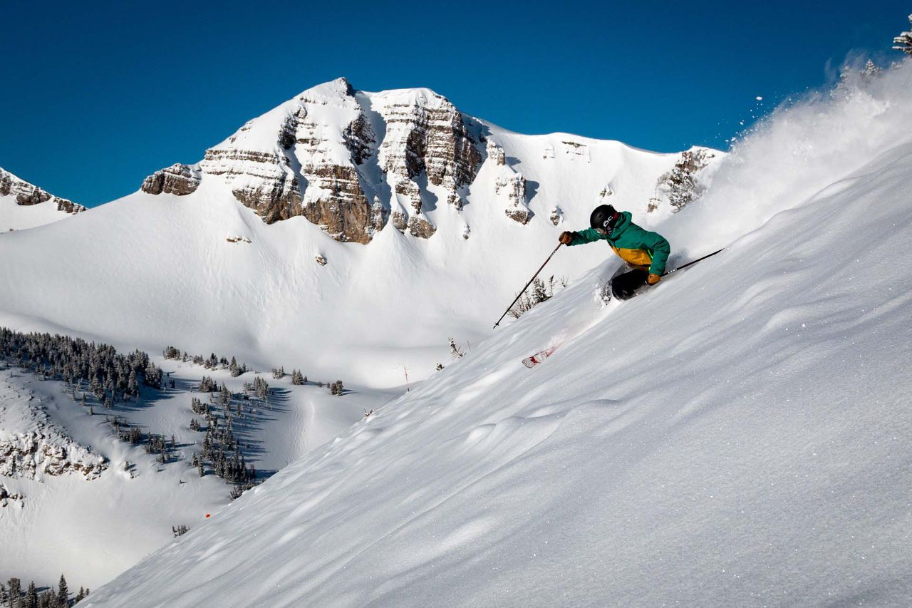 Backcountry skiing, a Wyoming winter adventure