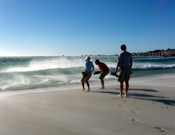 Beach in cape town