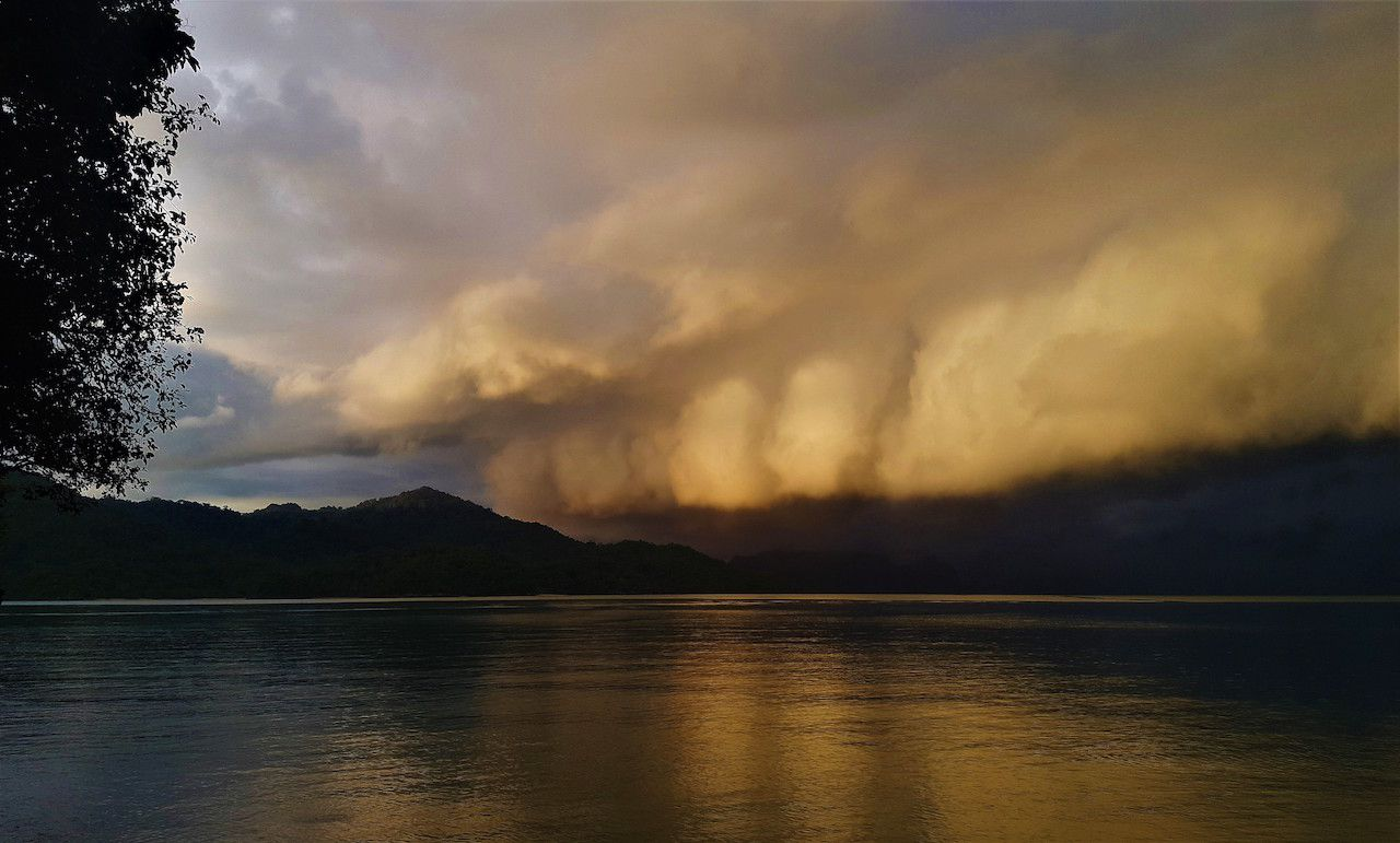 Malaysia storm