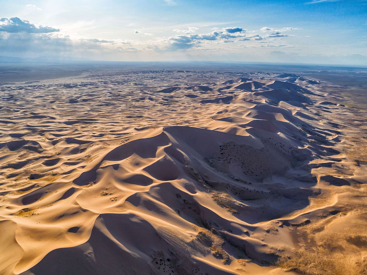 Mongolia sand dunes