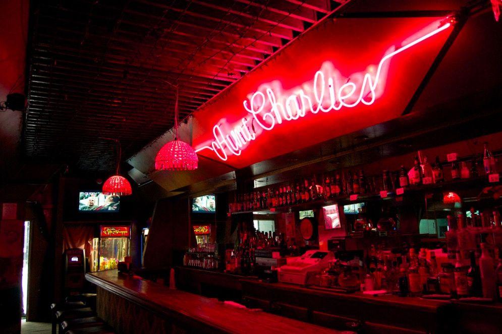 Weird san francisco bar Aunt Charlies lounge