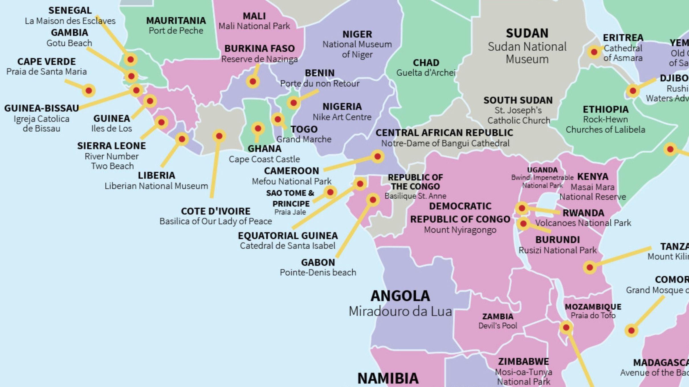 1 Africa Travel Hotspots