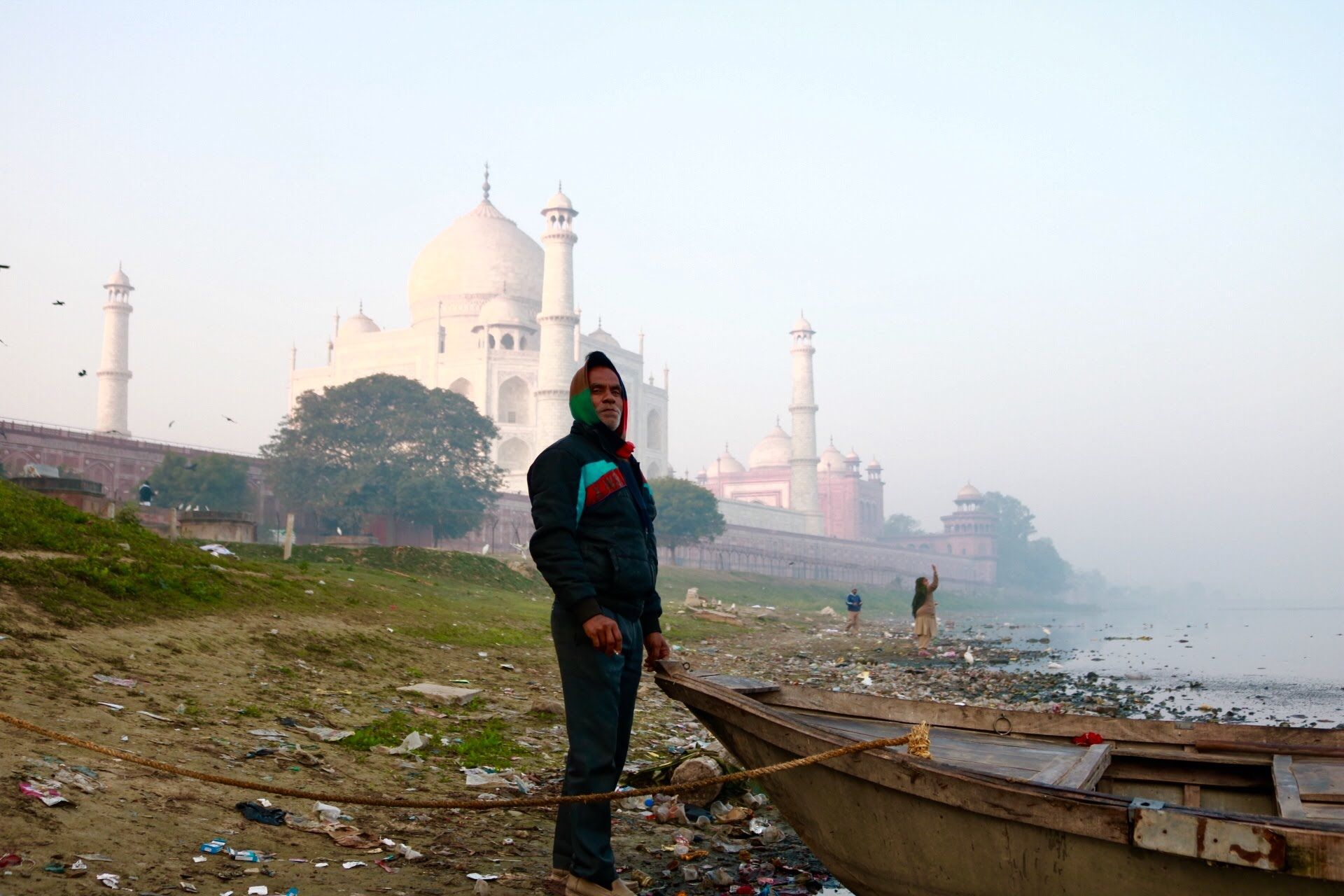 Alternative view of the Taj Mahal