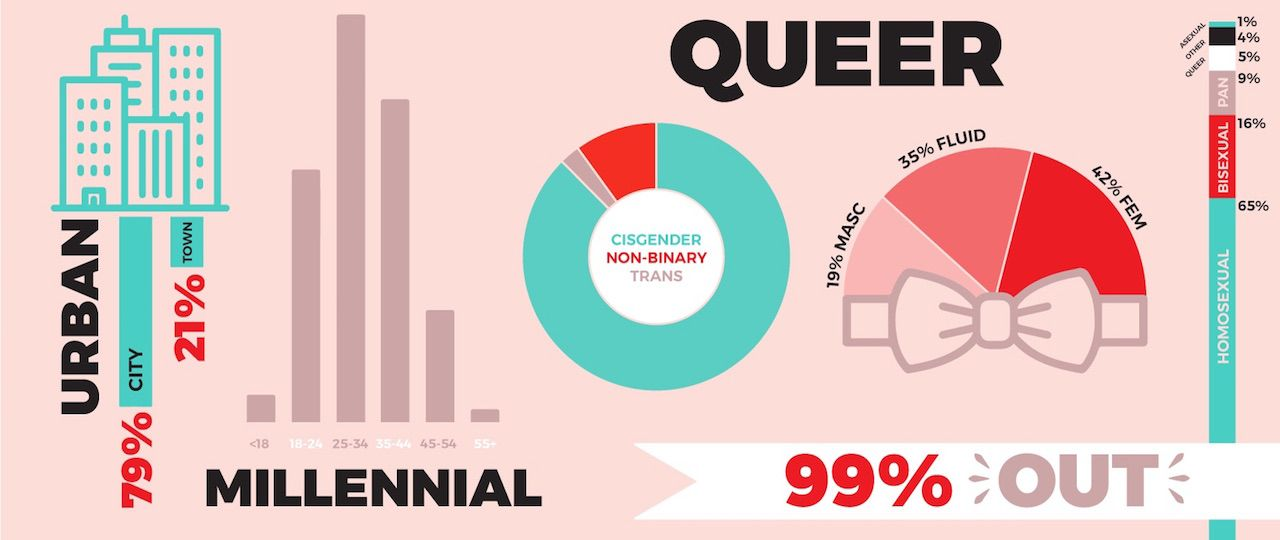 Demographics of queer female abuse survey