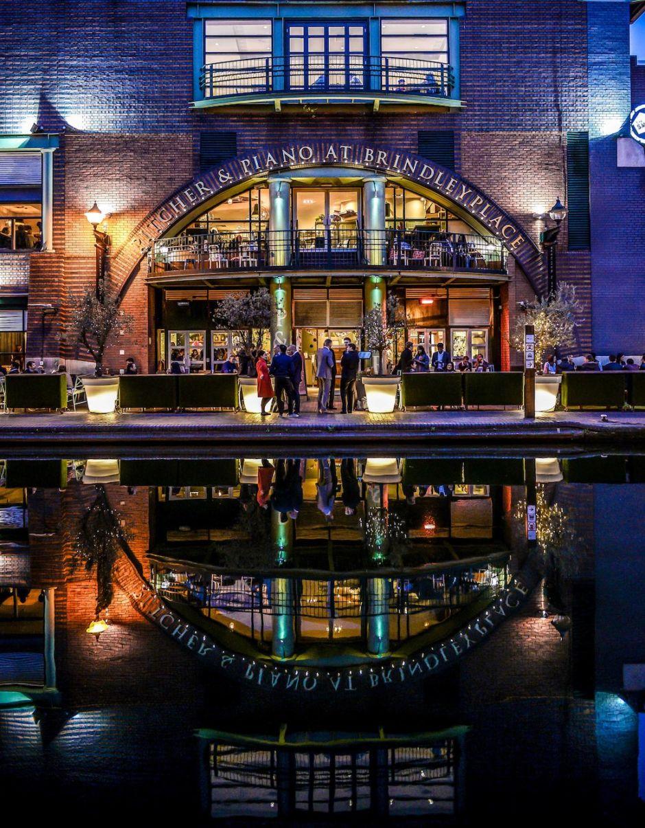 Brindley Place Canal Birmingham