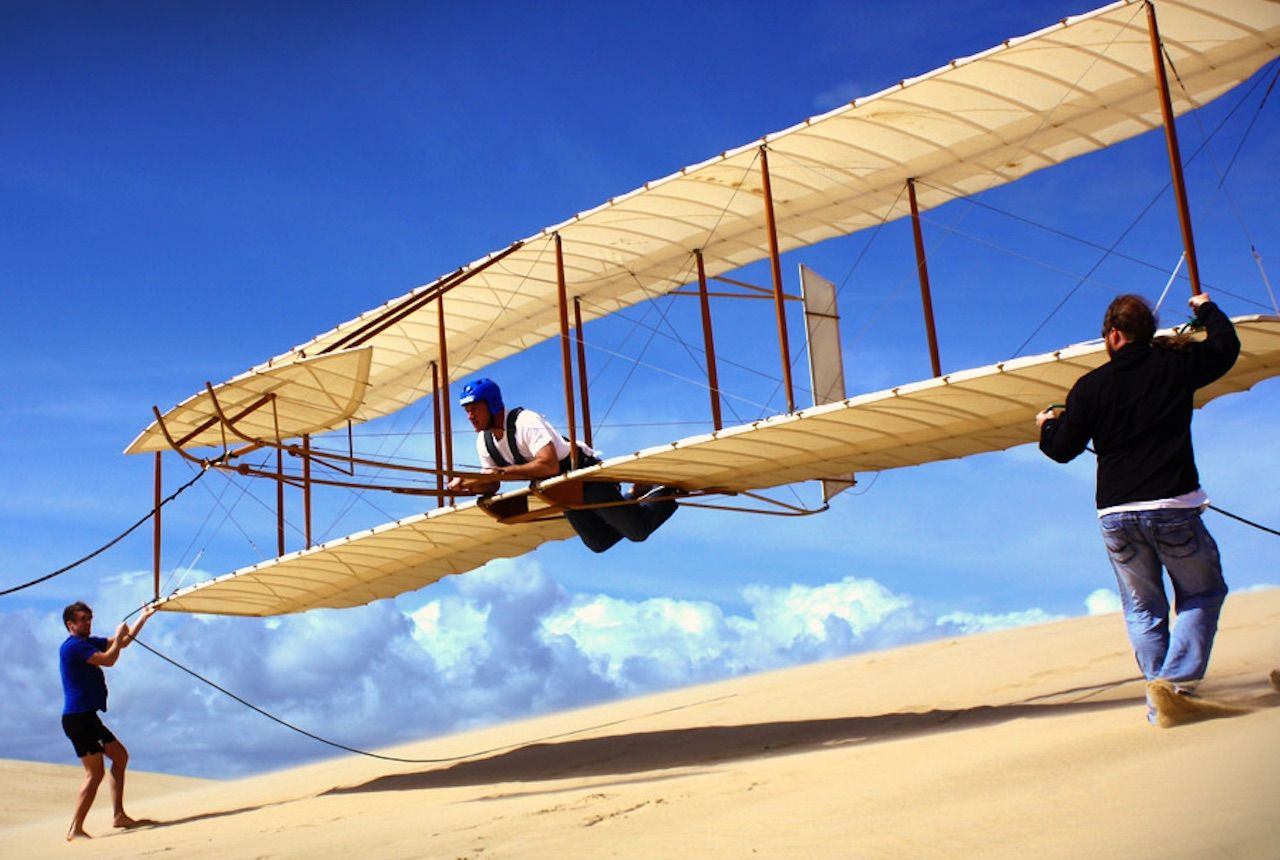 Kitty Hawk Kites Wright Brothers Experience