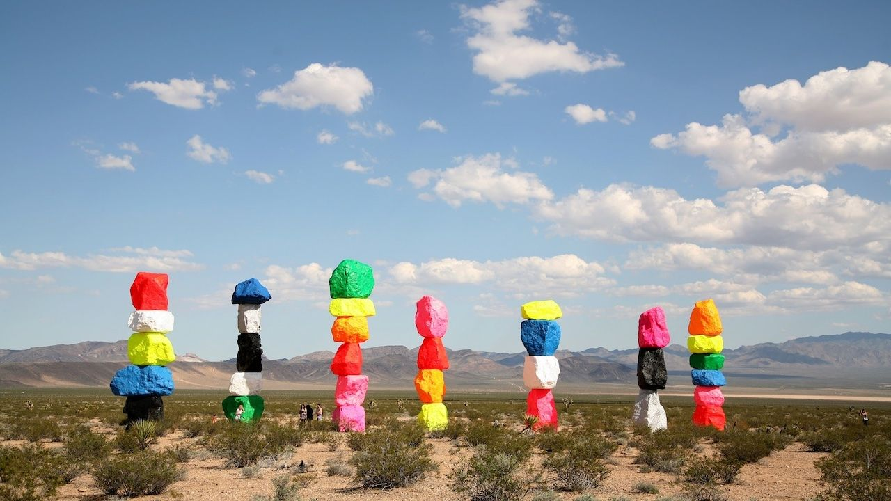 Seven Magic Mountains Nevada
