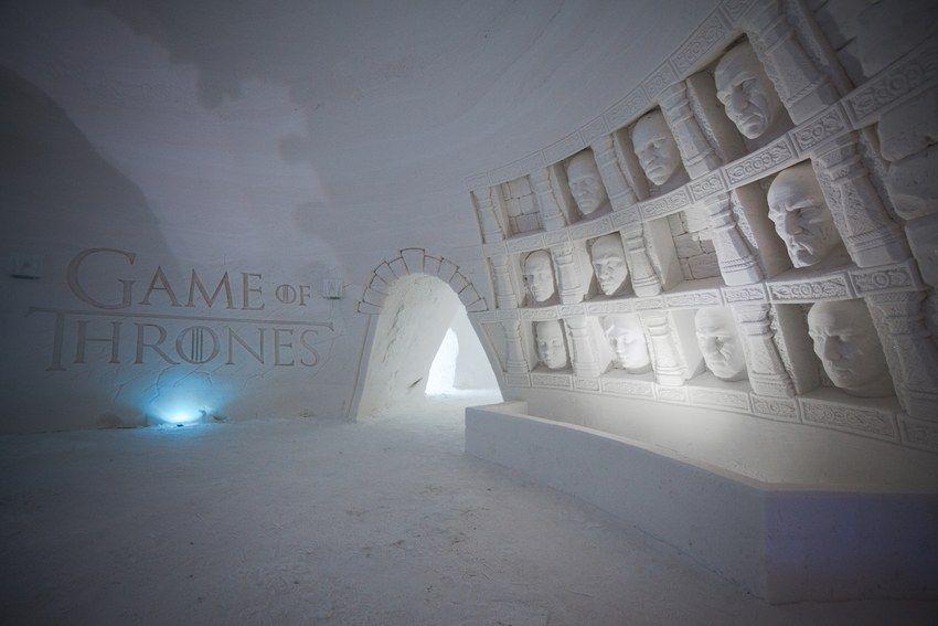 snowvillage hall of faces