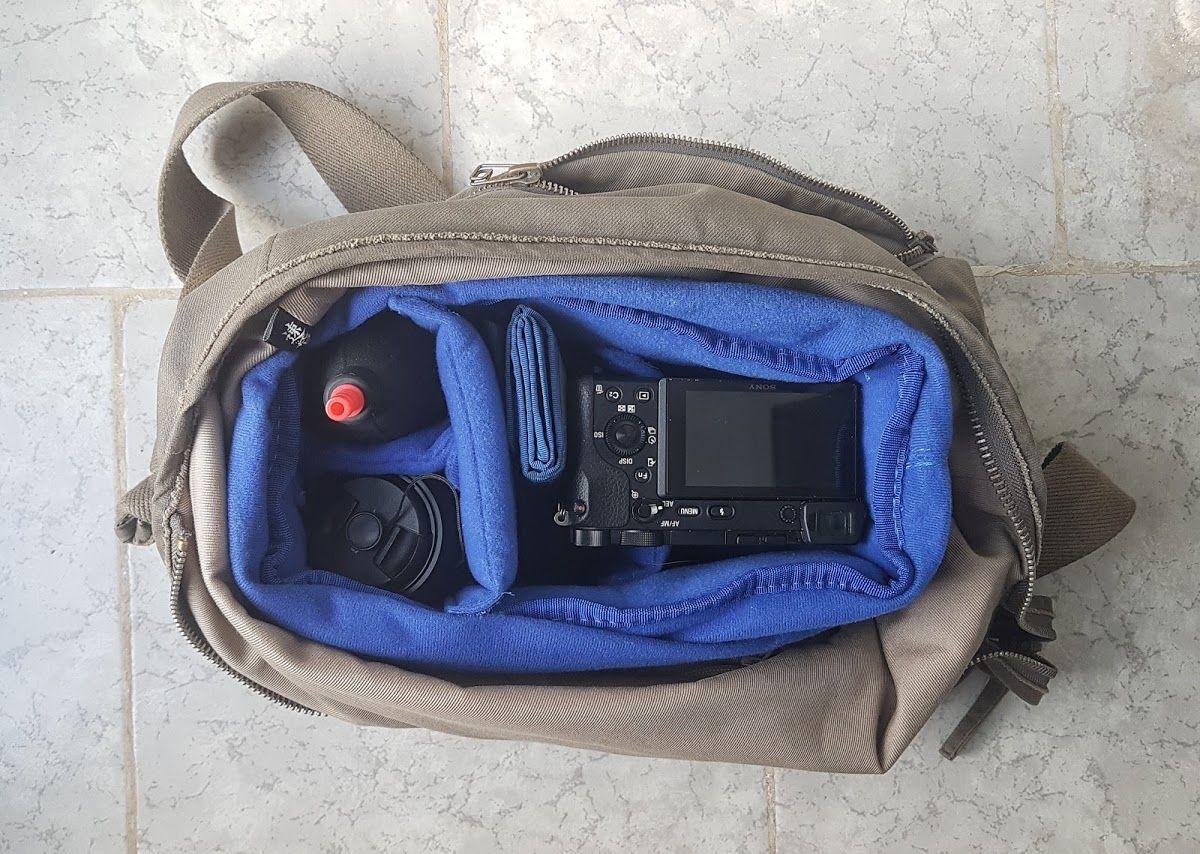 Minimalist camera bag