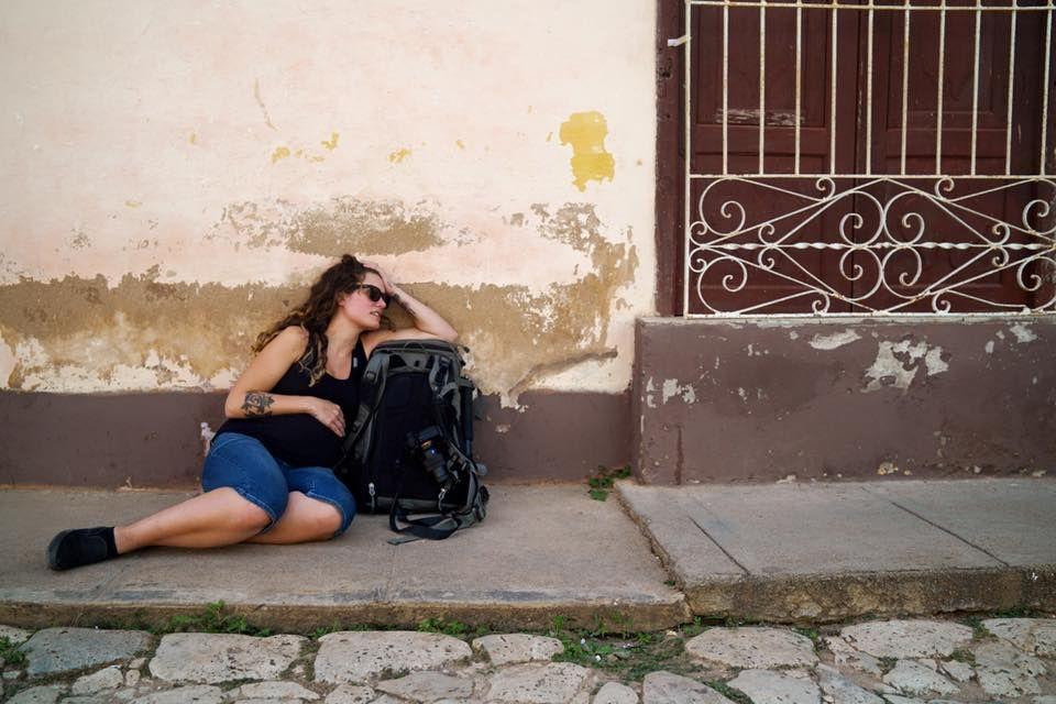 Woman in Cuba