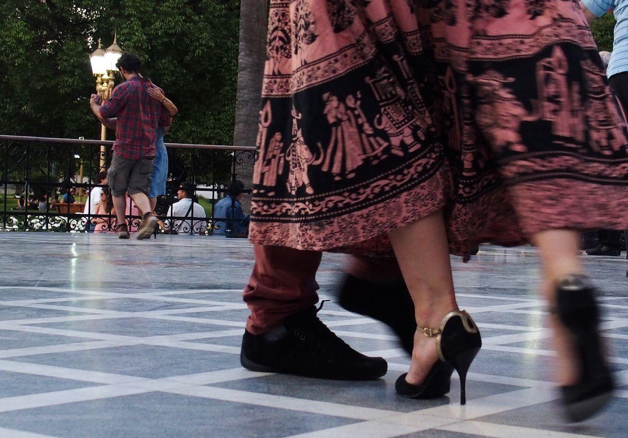 Tango at La Glorieta