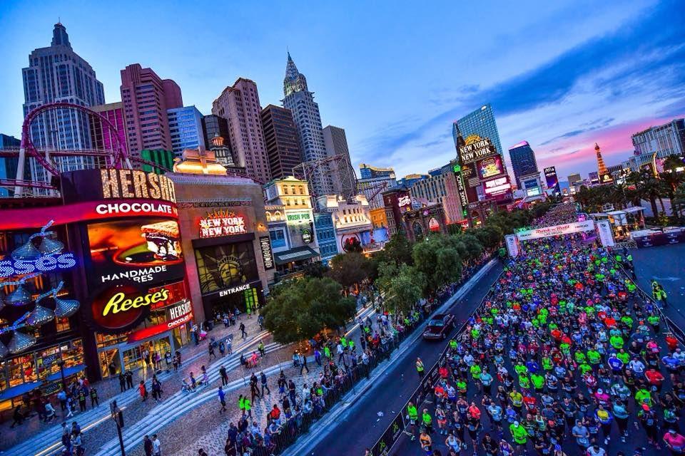 Marathon in Las Vegas