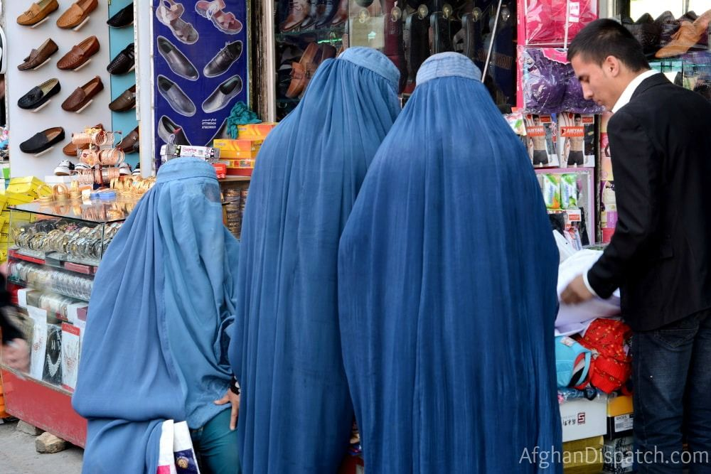 Women in Afghanistan market