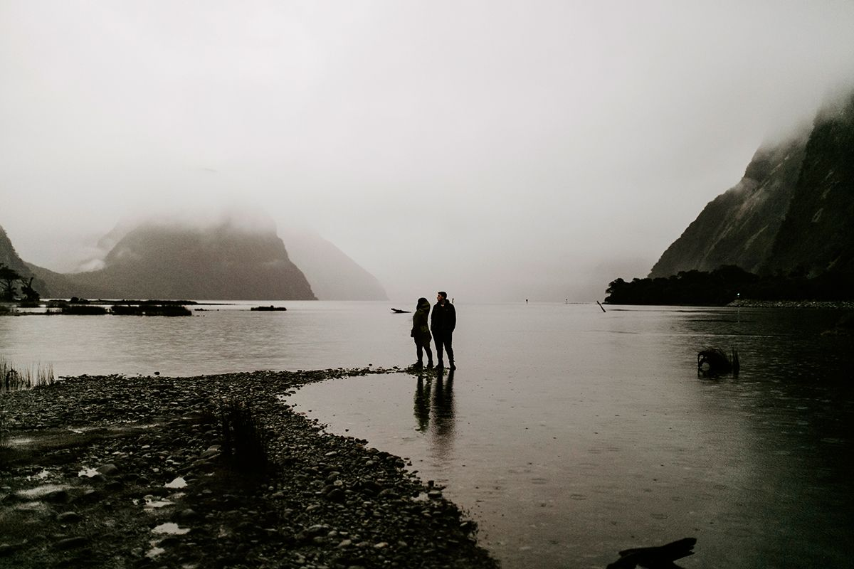 June in Milford Sound, South Island, New Zealand