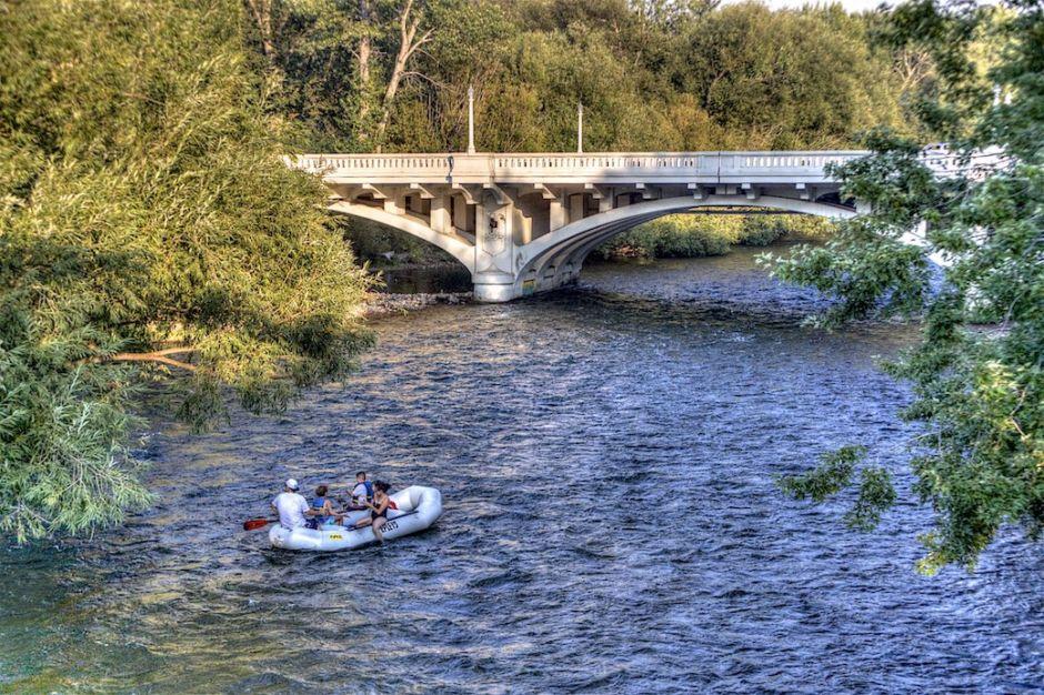 Boise River rafting